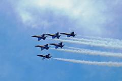 Blue Angels (***Bud***) Tags: virginiabeach navalairstationoceanainvirginiabeach blueangels boeing fa18 hornet