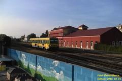 GySEV 247 509 Sopron-Déli pu., 2016. 10. 01. (petrsbence) Tags: gysev vonat vasút railways trains bahn zug motorvonat 5047 247 jenbacher berényi állomás vasútálllomás pályaudvar soprondélipu délipályaudvar sopron hungary