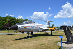 CF-101B VooDoo (jc nadeau) Tags: rcaf museum aircraft canada canadian air force trenton ontario cf101b airport cfb helicopter