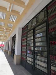Bourse du travail (1936), Bordeaux (33) (Yvette Gauthier) Tags: ferronnerie ferforg porte bordeaux gironde 33 aquitaine architecture artdco boursedutravail jacquesdwelles