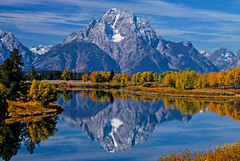 Perfect Morning (Ranbo (Randy Baumhover)) Tags: importedkeywordtags tetons mtmoran oxbowbend autumn grandtetonnationalpark wyoming jacksonhole
