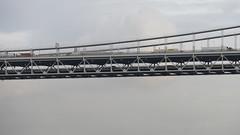 La vue sur le George Washington Bridge depuis le Ross Dock Picnic Area - Fort Lee - Bergen - New Jersey - tats-Unis (vanaspati1) Tags: vanaspati1 ville town pont rivire river fleuve hudson new jersey york la vue sur le george washington bridge depuis ross dock picnic area fort lee bergen tatsunis