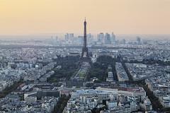 Paris Orange (PLF Photographie) Tags: paris eiffel tower tour orange sunset montparnasse cityscape urbanisme urban architecture