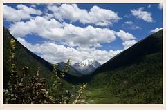 (C. Alice) Tags: 318  china  tibet  2015 sichuan sony nex5r snowmountain mountain cloud sky blue summer sonynex5r travel asia favorites50 a flickrtravelaward