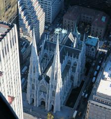 St. Patricks New York (trailsurfer) Tags: topoftherock rockefellercenter rockefeller new york ny saint patrick stpatrick cathedral gotic church city above