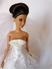 Sporty Fashionistas in Carolina Herrera (Sara.C~) Tags: barbie fashionistas fashionista doll dolls collector collectors pink fashionable posable blonde red brown carolina herrera wedding wave summer teresa sporty artsy nikki