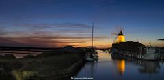 Mozia Marsala TP (*Ciccio*) Tags: tramonto mozia mulinoavento fiume saline barche sale