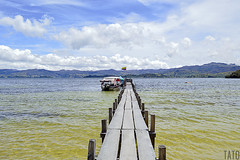 Muelle (Tato Avila) Tags: colombia boyac lagunadetota laguna lago agua montaas naturaleza nubes nikon vida