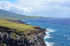 ocean, mountain and sky (ABI Imon) Tags: hana maui ocean mountain sky pacific outdoor coast landscape shore hill bluff ridge cliff