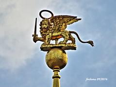 Venecia-19 León alado (ferlomu) Tags: escultura estatua ferlomu italia leonalado venecia