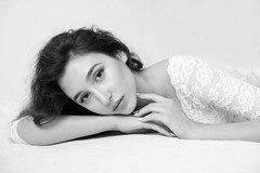 Faustyna (lucrecia lee) Tags: beauty beautiful bigeyes blackandwhite longhair light woman wavyhair dreamy daydreaming delicate darkhair youngwoman girl gorgeous graceful glamour glamorous face fulllips fashion