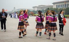 Tiananmen Square-0932 (kasiahalka (Kasia Halka)) Tags: 109acres 2016 beijing china citysquare gateofheavenlypeace greathallofthepeople mausoleumofmaozedong monumenttothepeoplesheroes nationalmuseumofchina tiananmensquare