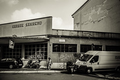 Via Zecca Vecchia (-dow-) Tags: garage milano viazeccavecchia viasmaurilio sanremo fuji xe1 xf1855mm