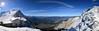 Mittenwald - Karwendel Panorama (cnmark) Tags: germany deutschland mittenwald bayern bavaria karwendel panorama panoramic snow blue sky outdoors mountans mountain range gebirgskette alpen alps sun sunrays ©allrightsreserved