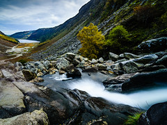 In Glendalough (Pekko Ahlsten) Tags: glendalough ireland dublin countydublin county wicklow landscape landscapes water waterfall mountain hiking nikon nikond7000 tokina1116mm hoyand400 longexposure