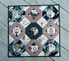 A Ghastlie Tale (alidiza) Tags: alexanderhenry ghastlies intentionalpiecing tellmeastory duringquiettime paperpiecing patchwork quilt halloween