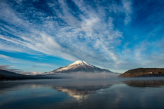 2016 Lake Yamanaka winter Fuji (shinichiro*) Tags: 南都留郡 山梨県 日本 jp 20160102ds22616 2016 crazyshin nikond4s afsnikkor2470mmf28ged yamanashi japan 山中湖 lakeyamanaka winter january fiji 30585924534 593579 201702gettyuploadesp 2016explore