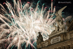 Saint's fireworks (Mire74) Tags: santagata sicilia fireworks sigma1750mmf28exdcoshsm catania massimobellinitheater teatromassimobellini lightroomcc sicily canon70d 2016 canon fuochidartificio photoshopcc project522016 flickrsicilia