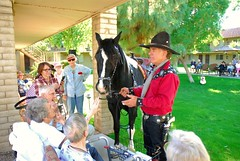 20161108 The Singing Cowboy (Gary Sprague) and Dusty (lasertrimman) Tags: gary sprague garysprague the singing cowboy dusty thesingingcowboyanddusty wooddale village wooddalevillage ruthgilmartin ruth gilmartin