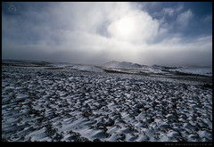 Viento y nieve