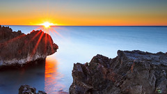 Sunrise Octobre 2016-0810 (laurent-locfuentes) Tags: sea longexposure levdesoleil water sunrise octobre2016 pl paysage