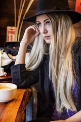 Coffee (micadew) Tags: coffee jenna micadew interesting interestingfaces beauty beautyshoots