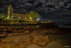 una nocturna de la iglesia de Luanco (ton21lakers) Tags: iglesia luanco asturias spain too escandon canon tamron nocturna