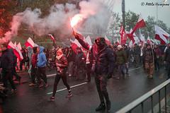 _ATI6173 b (attila.husejnow) Tags: nationalism nationalst poland warsaw farright far right burning flare flares march independence day mask flag ksenophobia xenophobia homophobia anti islam racist