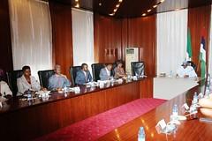 PRESIDENT BUHARI RECEIVE EXE SEC GULF OF GUINEA 0A