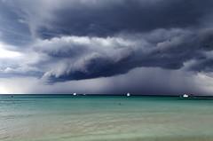 Storm over Es Trenc (El arte de Juan) Tags: storm tormenta nubes pasiaje playa mallorca spain beach clouds mar cielo