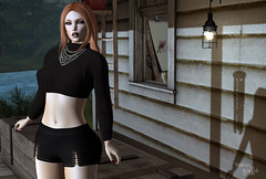 ~239~ A Better Place To Be (αиα ¢αραℓιиι) Tags: secondlife fashion belleza catwa wowskins entwined ikon petitemort treschic kunglers we3roleplay eastore bamboo thecrossroadsevent baxe designershowcase