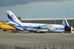 RA-82042 Volga Dnepr Antonov An-124 EGNX 4/11/16 (David K- IOM Pics) Tags: ra ra82042 volga dnepr vda egnx ema east midlands airport