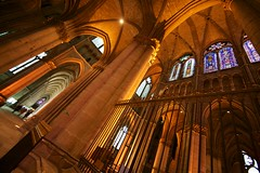 Saint-Remi basilica in Reims (Stan de Haas Photography) Tags: cathedral france nave reims saint roman remi basilica church champagne religion saintremi prayer standehaas dame de travel marc day horizontal chagall summer ardenne window capella architecture indoor artist notre europe interiors stained glass