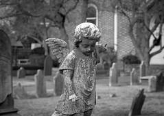 Broken wings. (lachoy731) Tags: angel statue broken wings hampton va cemetery canon canon80d