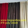 permanent fire flame retardant poly velvet fabrics for stage and theatre (begoodfrtex) Tags: flikr