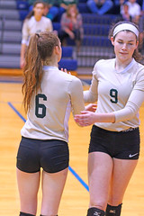 IMG_7716 (SJH Foto) Tags: girls volleyball high school york delone catholic team teen teenager substitution sub rotation