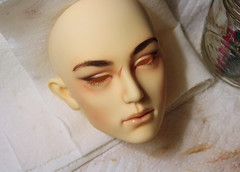 IMG_5153 (AlisonVonderland) Tags: illusion spirit tosaca illusionspirit bjd abjd male man asian custom faceup scar natural warm apricot brown normalyellow 70cm mature realistic doll