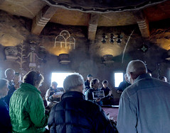 2016 Grand Canyon History Symposium Desert View Watchtower 0414 (Grand Canyon NPS) Tags: grandcanyon historical society 2016symposium desert view watchtower tour hopi artist fred kabotie murals mary colter historic building jan balsom room