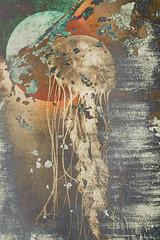 Fantôme solaire (Astrid Deschenes) Tags: créationnumérique ambiance méduse texture surréaliste