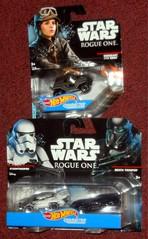 Hot Wheels - Rogue One (Darth Ray) Tags: mattel hot wheels star wars rogue one sergeantjynerso stormtrooper deathtrooper sergeant jyn erso death trooper