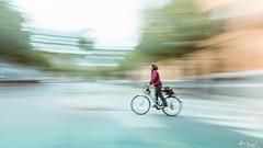 On the bike again... (Bruno Frerejean (Bruno Mallorca)) Tags: movedphotos mallorca motionblur bicycle 2wheelrider art abstractstreetphotos