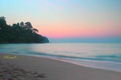 KaoLak Beach, PhangNga Province,Thailand (khoonli88) Tags: asia thailand sea seaside beach sky cloud sunset outdoor coast landscape serene canon photo