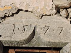 DSCN1565 (keepps) Tags: switzerland suisse schweiz fribourg montbovon fall autumn 1577 stone doorframe