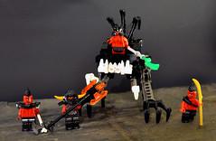 Skorchlands Skouts (spencerwinson) Tags: lego toys mech mecha castle