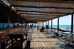 all'ombra del pergolato (*magma*) Tags: people beach bar work reflections cool gente ombra trellis shade tables riflessi fresco ansedonia portico reportage tavoli spiaggi pergolato