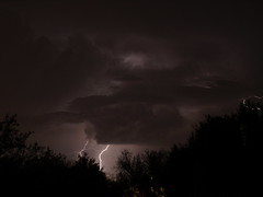 Lightning in Tucson on July 6, 2013 (Distraction Limited) Tags: arizona tucson lightning storms thunderstorms azwmonsoon arizonathunderstorms azwmonsoon2013