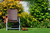 Gardeners Rest (Stephen Whittaker) Tags: flowers hot green grass sunshine weather composition nikon pov sandals seat heat d5100 whitto27