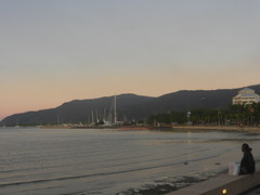 Cairns (simo2582) Tags: ocean voyage old trip travel sunset sea panorama travelling coral outdoors coast reisen surf view harbour oz nowhere colonial under australian australia down adventure stadt qld queensland tropical hippie outback cairns aussie aboriginal viaggio blick reise