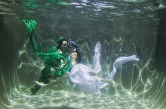 , - Green Snake and White Snake (projectdoris photography) Tags: green water fairytale underwater mysterious magical fineartphotography underwaterphotography whimisical   chinesefairytale projectdorisphotography