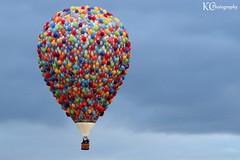 Up (AreKev) Tags: uk england sky hot up bristol air balloon hotairballoon balloonfiesta whitchurch disneys bristolinternational sonydschx20v